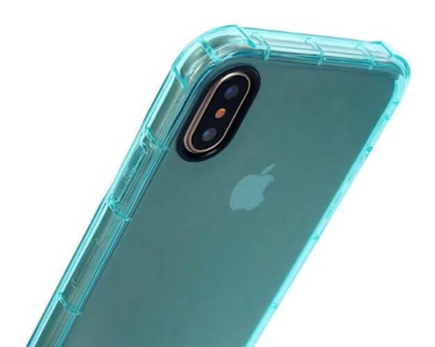 shockproof soft rubber iPhone x case