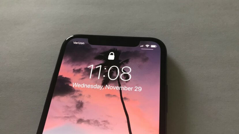 why does the iphone x have a notch? truth