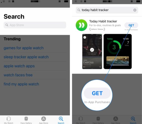 How To Download Apps Watch App Using The Search Tool