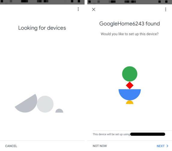 google home found