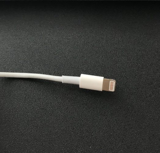 inspect ipad lightning cable