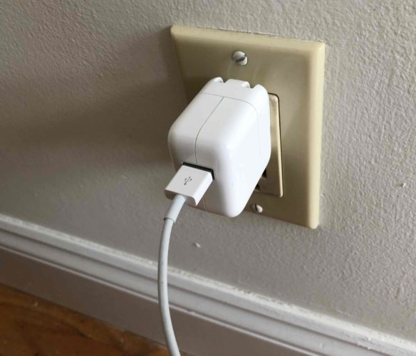 ipad wall charger
