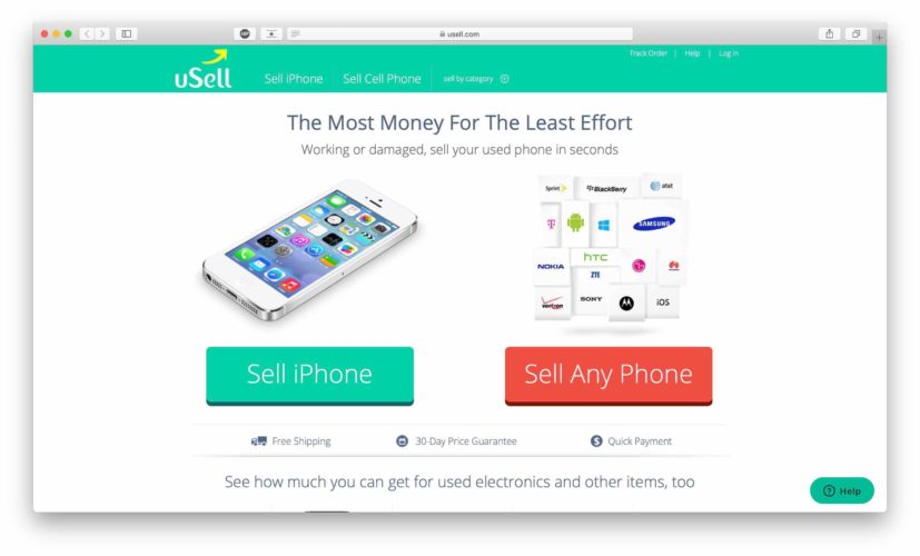 usell home page