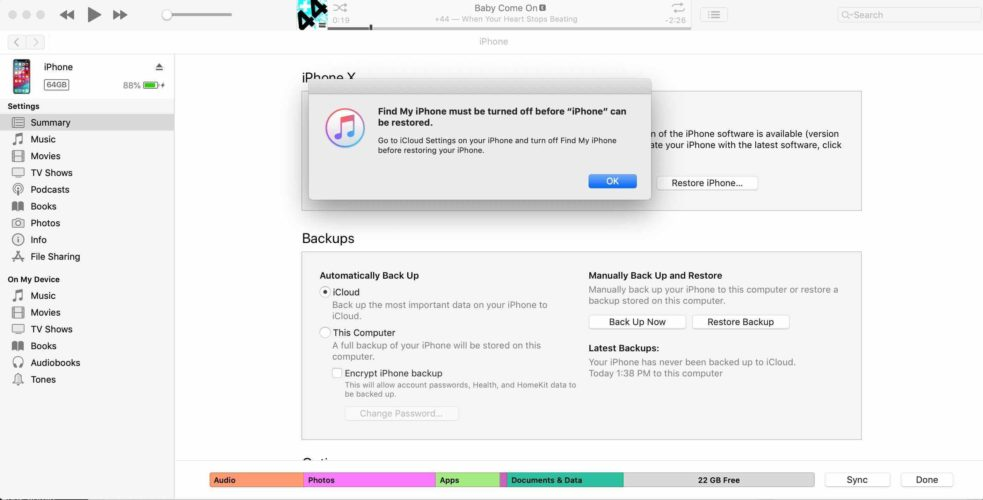 How To Backup Your iPhone To iTunes  Payette Forward