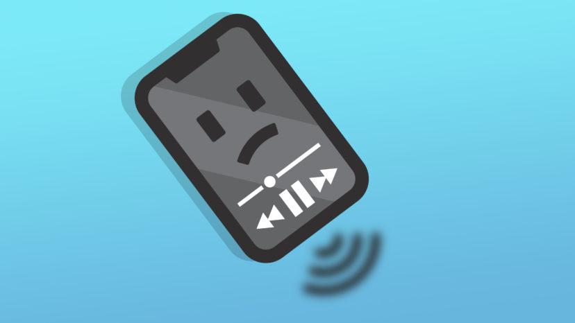 iphone speaker sounds muffled fix