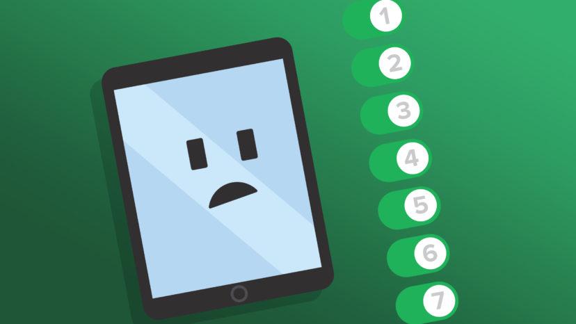 7 ipad settings to turn off immediately