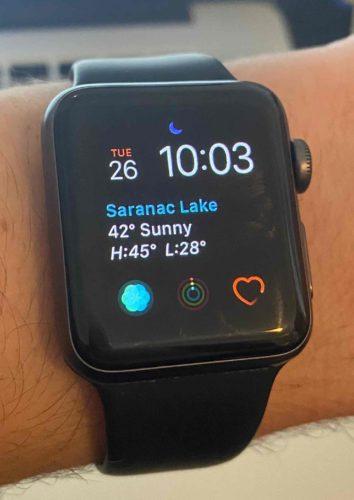 modular apple watch face