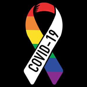 coronavirus ribbon covid-19