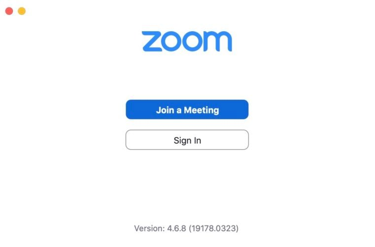 join meeting in zoom client
