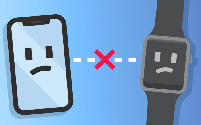iphone won't pair with apple watch