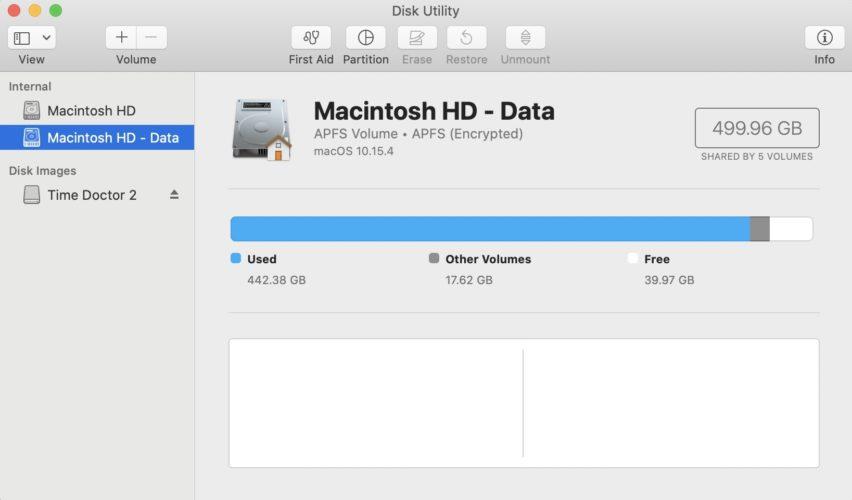 repair the mac disk