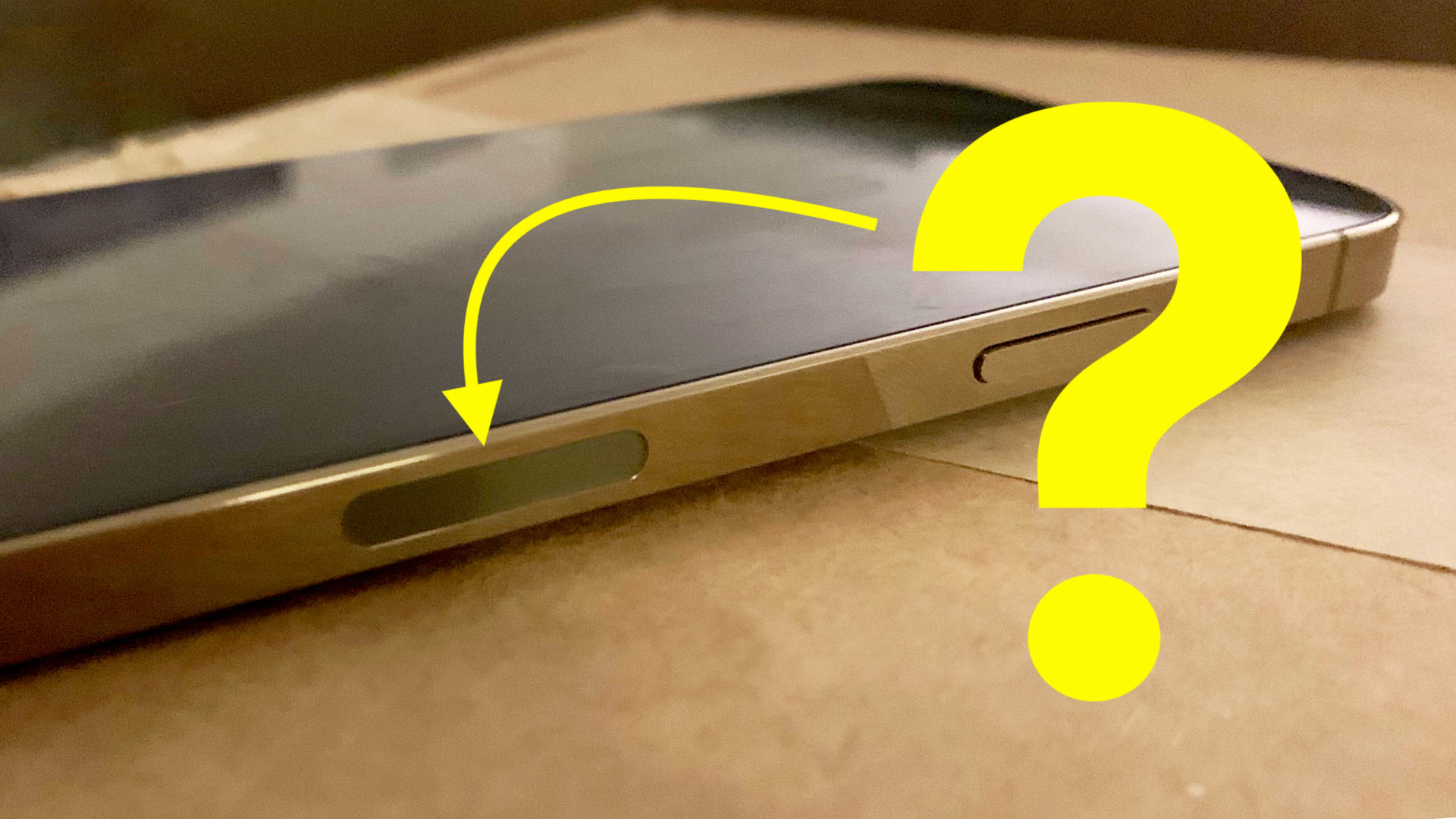 Why The Iphone 12 Has A Black Oval Indentation On The Side Payette Forward