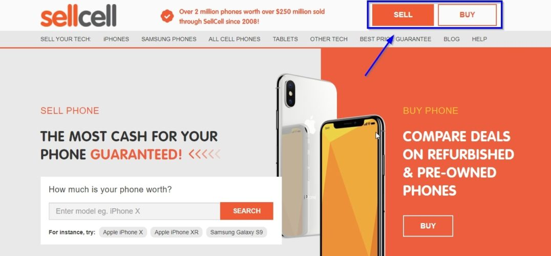 where to buy and sell on sellcell