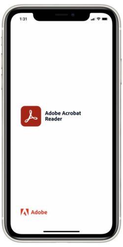 Adobe Acrobat Loading Screen
