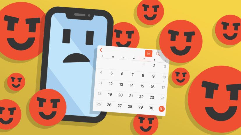 how to fix the iphone calendar virus