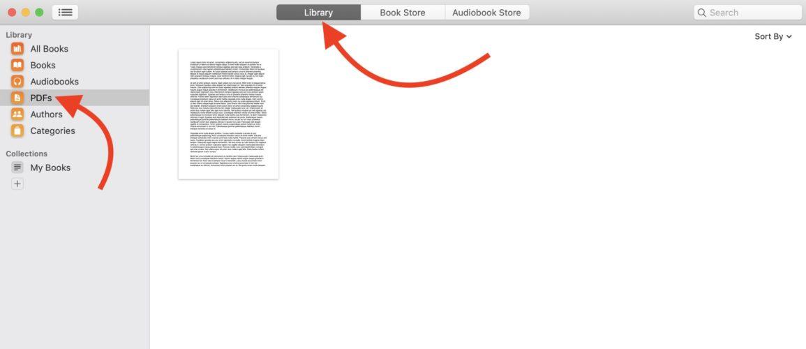 open pdf in books app on mac