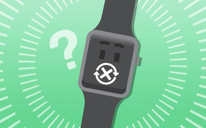apple watch wont restart fix