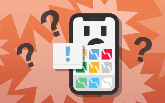 iphone apps crashing fix
