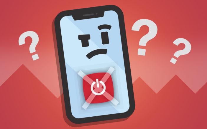 iphone wont turn off fix